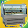 Counter Top Confectionery Display Chiller with Arc Front Glass