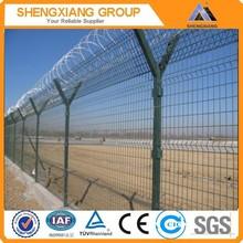 Y type plant fence/factory fencing/cauf fish farm fence