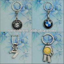 Metal key chain with Car logo