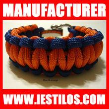 2013 latest design color 550 paracord bracelet weaves