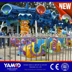 Newly design! New amusement park rides flying seahorse, flying shark, flying tiger rides for sale