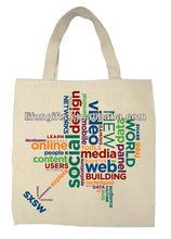 2014 Promotional fashionable Eco-Friendly wholesale Stock Canvas bag -Promotional/Shopping