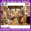 Leisure lady fashion clothes shop interior design