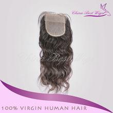 cheap virgin chinese free parting virgin hair closure