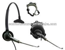 Convertible Monaural Call Center Air Tube Headset