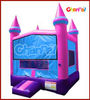 Inflatable princess bouncy castle IS154/inflatable pirate castle