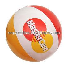 water fun self inflating beach ball, custom design inflatable glow beach ball,china factory cheap bumper ball inflatable ball