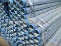 /astm din/bs galvanizado reg tubo de acero con extremos roscados