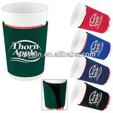 coffee mug sleeve/ coffee cup holder/drink neoprene sock