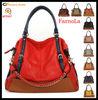 Full Grain Soft Leather Bag Women Designer Handbags 2013(AFY067)