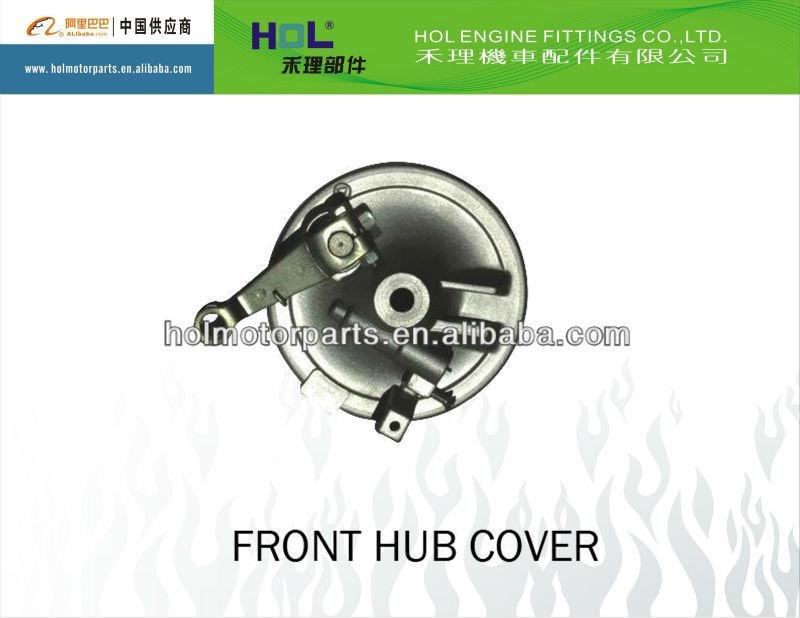 motorcycle Bajaj front wheel hub cover