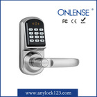 zinc alloy digital door lock rfid