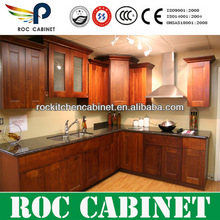 2013 real new design colorful birch solid wood kitchen cabinet supplier