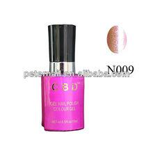 UV/led gel nail polish natural nail shine