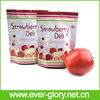 Stand Up 3 Layers Laminated Aluminum Foil Plastic Fruit Storage Bags