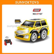 Q Style! 360 Rotation; mini rc car; rc stunt car