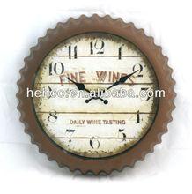 Modern metal wall clock/ wall clock metal clock dials