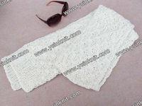 white 100%acrylic women fancy yarn for Hand crochet scarf selling