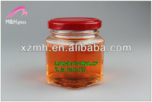 100ml can glass jar with crown cap