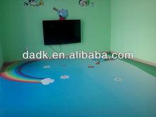 pvc colorful kindergarten flooring