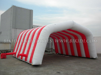 Hot sale inflatable tunnel tent, inflatable customed tent K5044