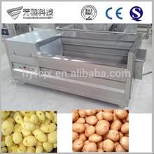 Hot Sale Stainless Steel 800kg/h Brush Roller vegetable/carrot/fruit/potato washing machine