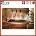 Cama de masajes de madera hidráulica Vicky para Spa