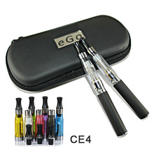 2013 hot selling electronic cigarette recycle long wick/short wick mix color rebuildable vision led ce4 kit