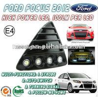 2014 NSSC daytime running lights kit car drl Ford Focus 2012 led daylight running lights