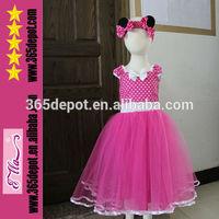 Hot Pink Snow White Tulle Tutu Dress Soft Girls Wear Wedding Dress Wholesale Girls Tutu Dress