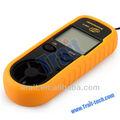 Alta calidad bajo precio viento del anemómetro Digital portátil para de medida de amplio velocidad y temperatura