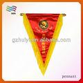 personalizado escuela triángulo de banderín de banderas