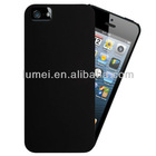 New Stylish Ultra Thin Matte Black Hard case Cover and Screen Protector for New Apple iPhone 5