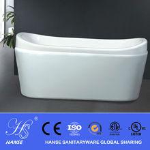 HANSE chemical formula of bath soap/small thick acrylic bathtubs HS-B522