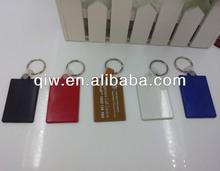 Rectangle Shaped Promotional Plastic soft PVC key holder manufacturer