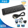 2.4g skype wireless all in one keyboard with IR remote and fly mouse