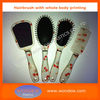 High quality whole body printing hair brush,water transfer hairbrush,animal printing hair brush