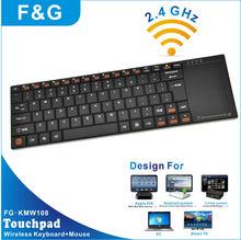 aluminium Wireless Keyboard with Touchpad