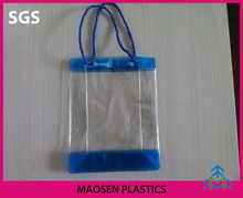 Clear PVC stationary case .Mini Cosemtic PVC Case for multi-purpose packaging