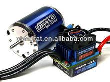 HOBBYWING EZRUN V2 6000KV 5.5T Brushless Motor & 60A ESC Speed Controller + Program Card for 1/10