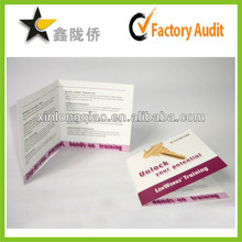2015 cheap printed paper card for estate industry