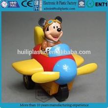 mouse plane anime pvc figure;custom 3d pvc figures;3d anime figure for collection