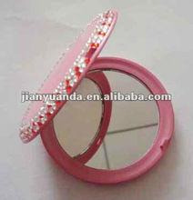 Ladies dual sides wholesale mirror cosmetic