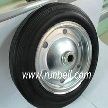 solid rubber wheelbarrow tires