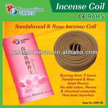 wholesale bulk potpourri rose incense coil