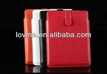 2013 Hot Luxury Sleeve PU Leather Case For Apple iPad2/3/4