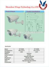 cctv camera housing bracket/outdoor cctv camera housing/ip66 outdoor cctv dome camera housing