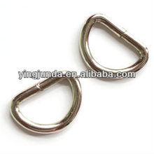 fashion stainless steel d-ring metal ring