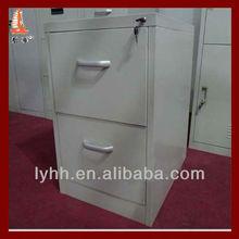 Pine Smaller size metal 2 drawer filing cabinet