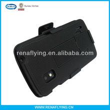 Kickstand combo hybrid case for LG google nexus 4 E960